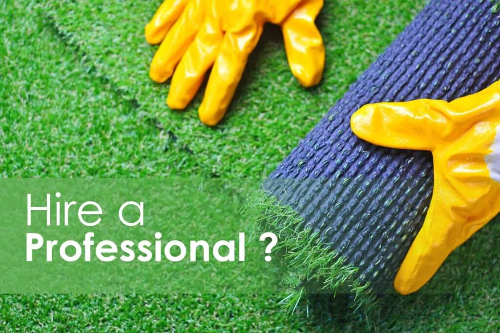 artificial grass expert installer